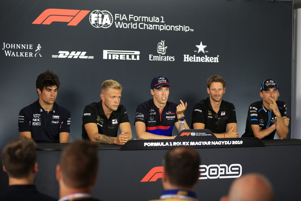 Hungarian Thursday Driver Press Conference - FIA Drivers Press Conference