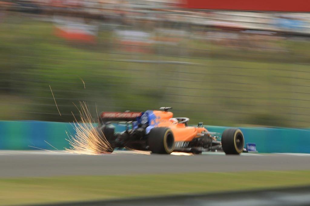 F1 Formula 1 Hungarian Grand Prix McLaren Practice