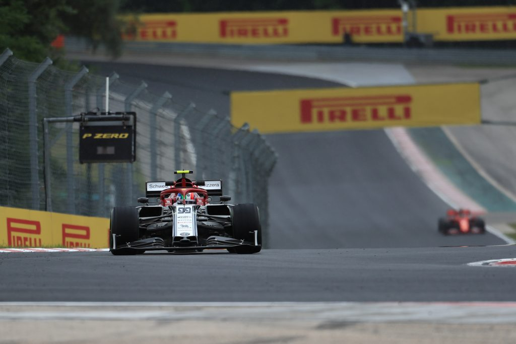 F1 Formula 1 Hungarian Grand Prix GP Alfa Romeo Practice