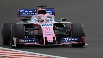 Photo of Perez says Ricciardo's move was 'disrespectful'