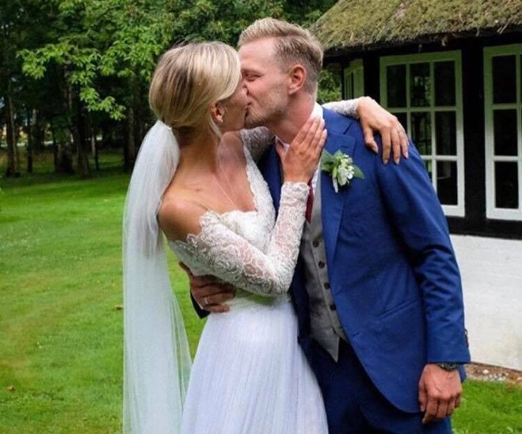 Kevin Magnussen wedding marriage married Louise