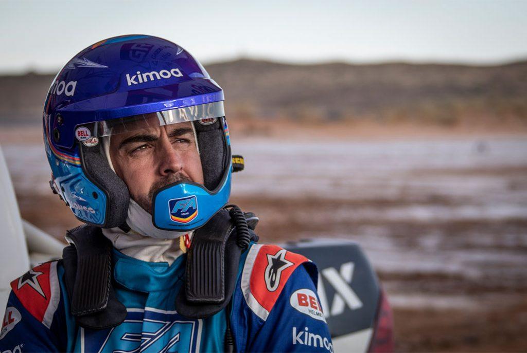 Alonso Dakar rally raid