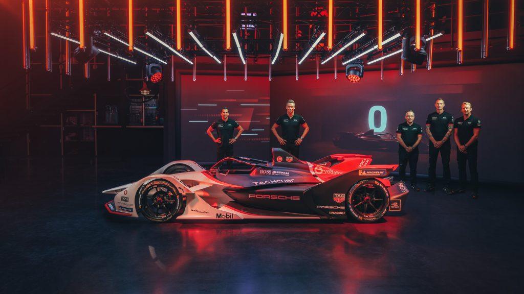 Porsche Formula E Neel Jani Andre Lotterer