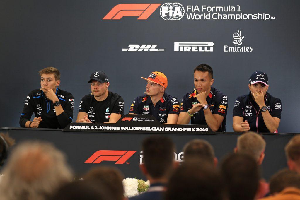 F1 Formula 1 Belgian Grand Prix Press Conference