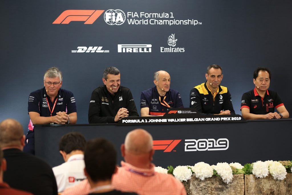 F1 Belgian GP Press Conference