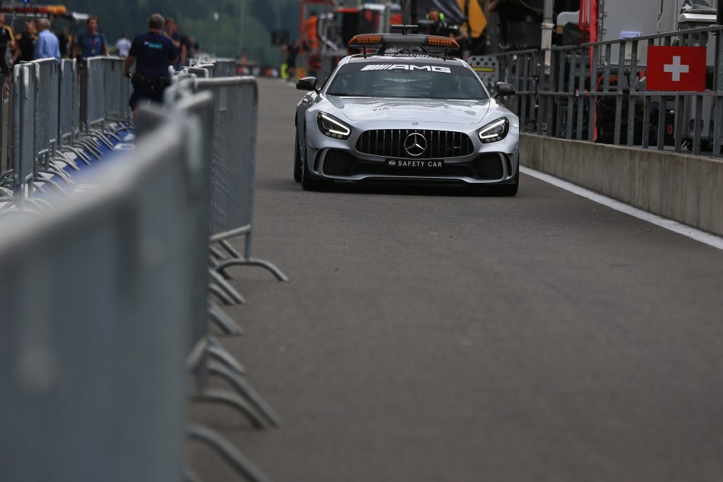 Safety Car Belgian GP 2019 Starting Grid