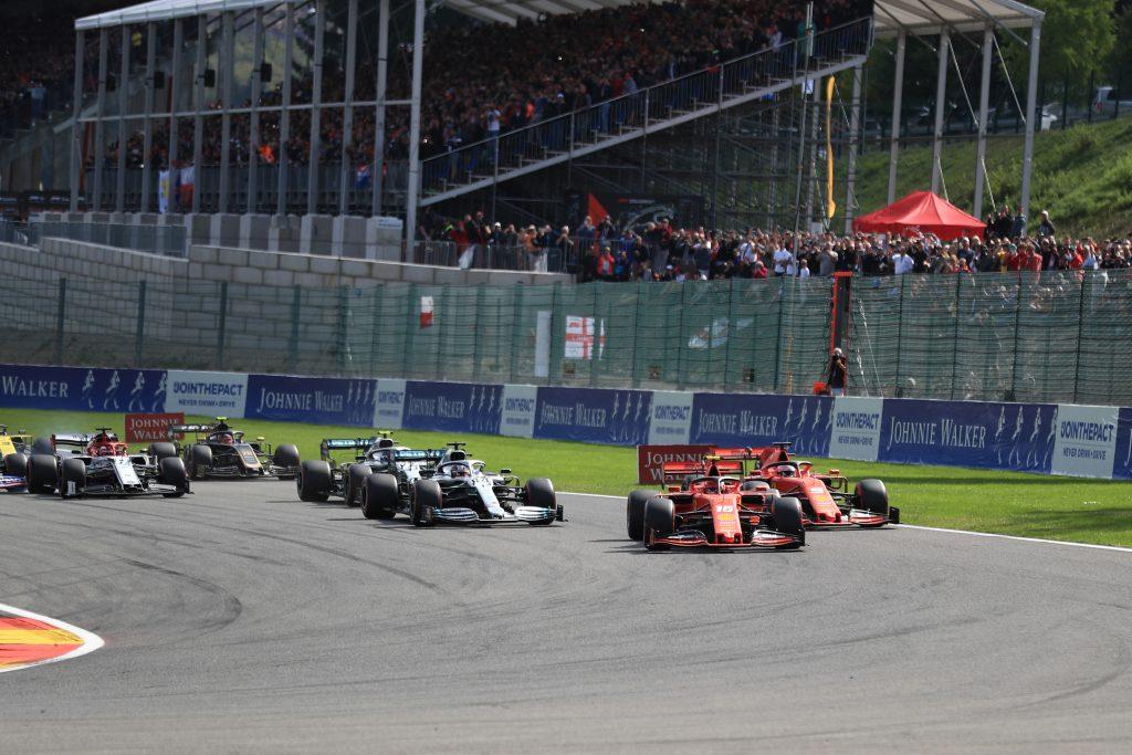 F1 Formula 1 Belgian Grand Prix Charles Leclerc Ferrari Lewis hamilton Mercedes