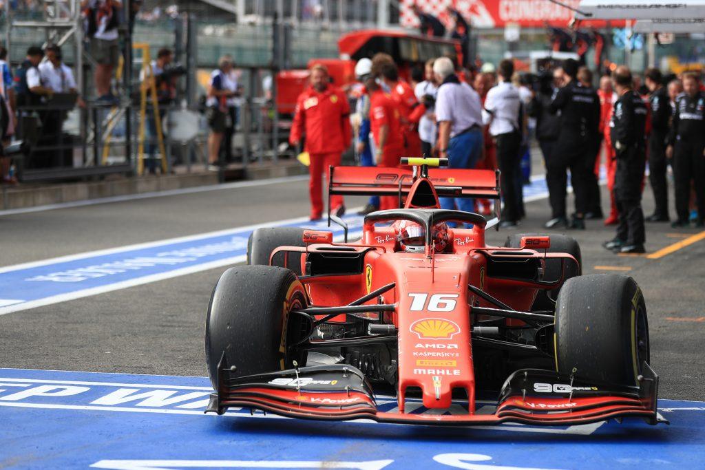 Driver Constructor Standings Belgian GP F1 Formula 1 Belgian Grand Prix Charles Leclerc Ferrari Hubert