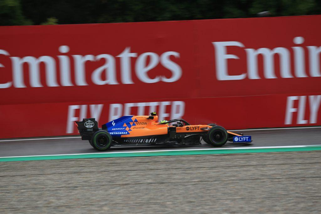 F1 Formula 1 Italian Grand Prix Lando Norris McLaren Renault penalty