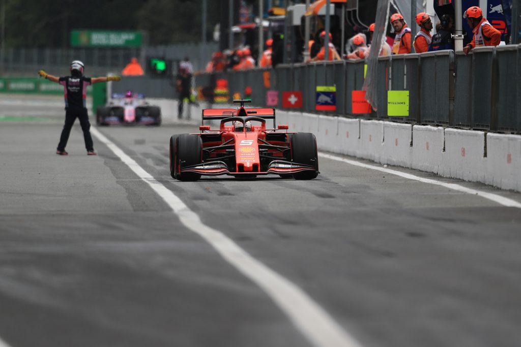 F1 Formula 1 Italian Grand Prix Practice FP3 Leclerc Ferrari
