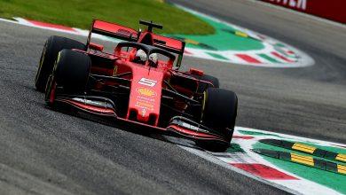 Photo of Vettel leads final practice for Ferrari