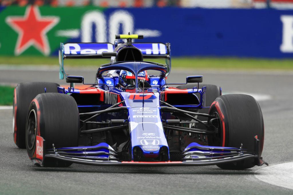 Toro rOSSO F1 Formula 1 Italian Grand Prix Peroni Halo Gasly