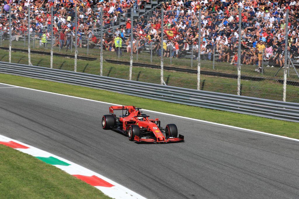 F1 Formula 1 Italian Grand Prix Vettel Ferrari Qualifying