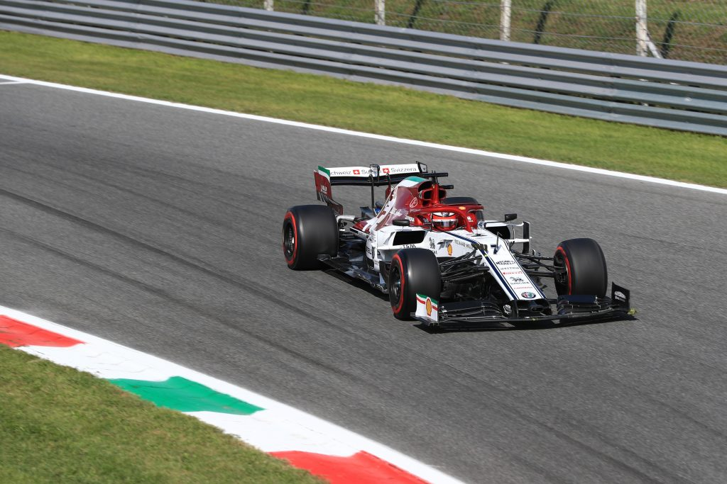 Formula 1 F1 Italian Grand Prix Alfa Romeo Kimi raikkonen gearbox engine pitlane start