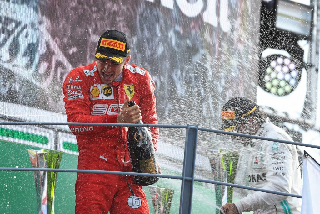 F1 Formula 1 Italian Grand Prix Ferrari Monza Leclerc Hamilton Mercedes