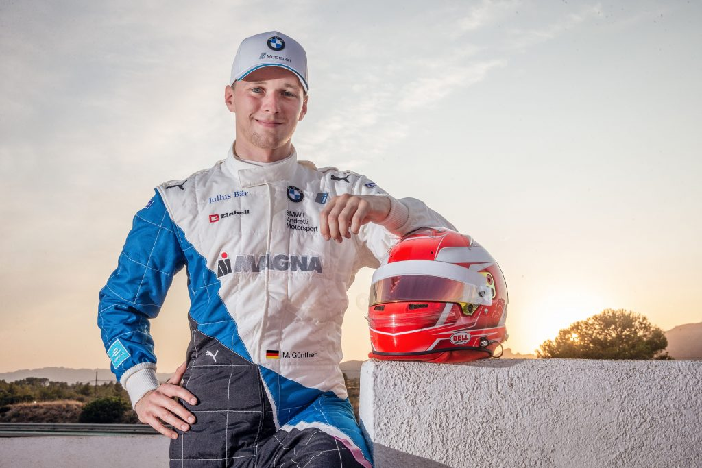 Guenther announced for BMW i Andretti for season 6