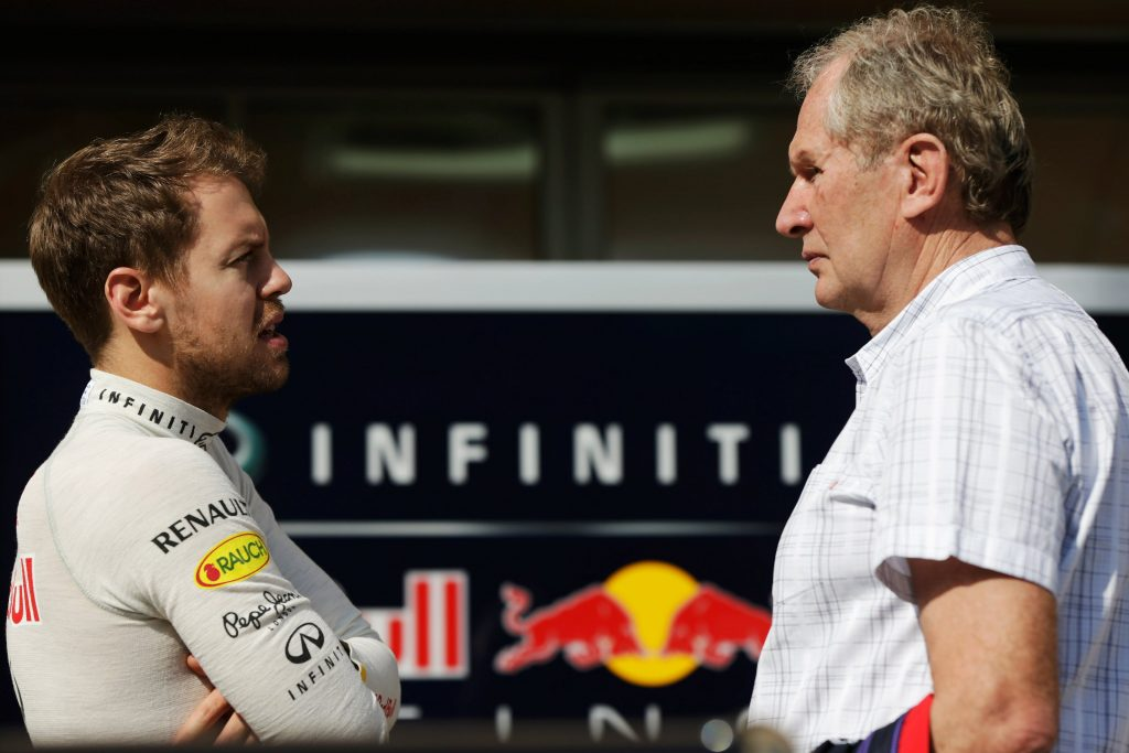 F1 Formula 1 Vettel Marko Red Bull Vettel's future