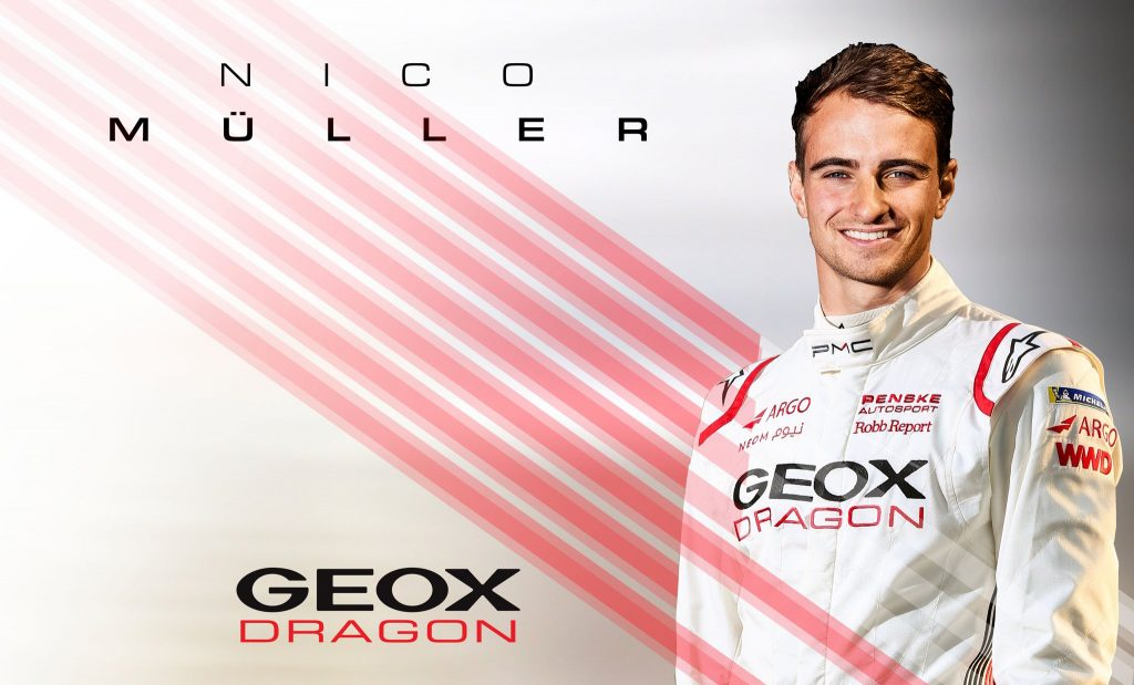 Nico Mueller signs with Geox Dragon for season 6