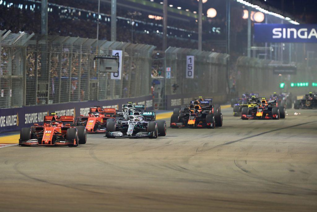 Race Results – 2019 Singapore Grand Prix