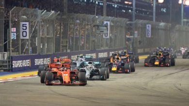 Photo of Vettel leads home Leclerc for Ferrari 1-2