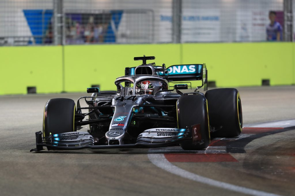 Driver Constructor Standings Singapore GP 2019
