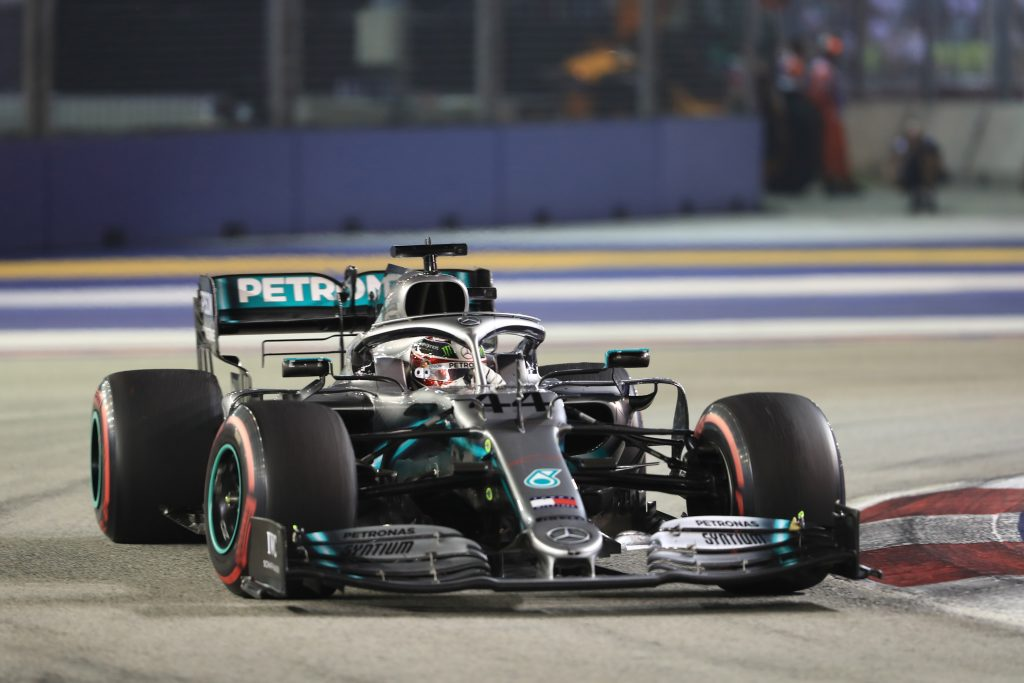 F1 Formula 1 Singapore Grand Prix Lewis Hamilton Mercedes
