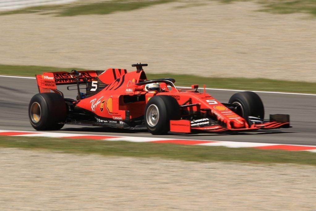 F1 Formula 1 Testing Pirelli tyre test Ferrari Sebastian Vettel