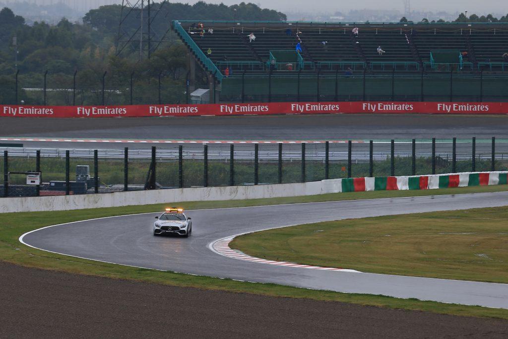 qualifying typhoon hagibis japnese grand prix suzuka F1 Formula 1 Typhoon Hagibis