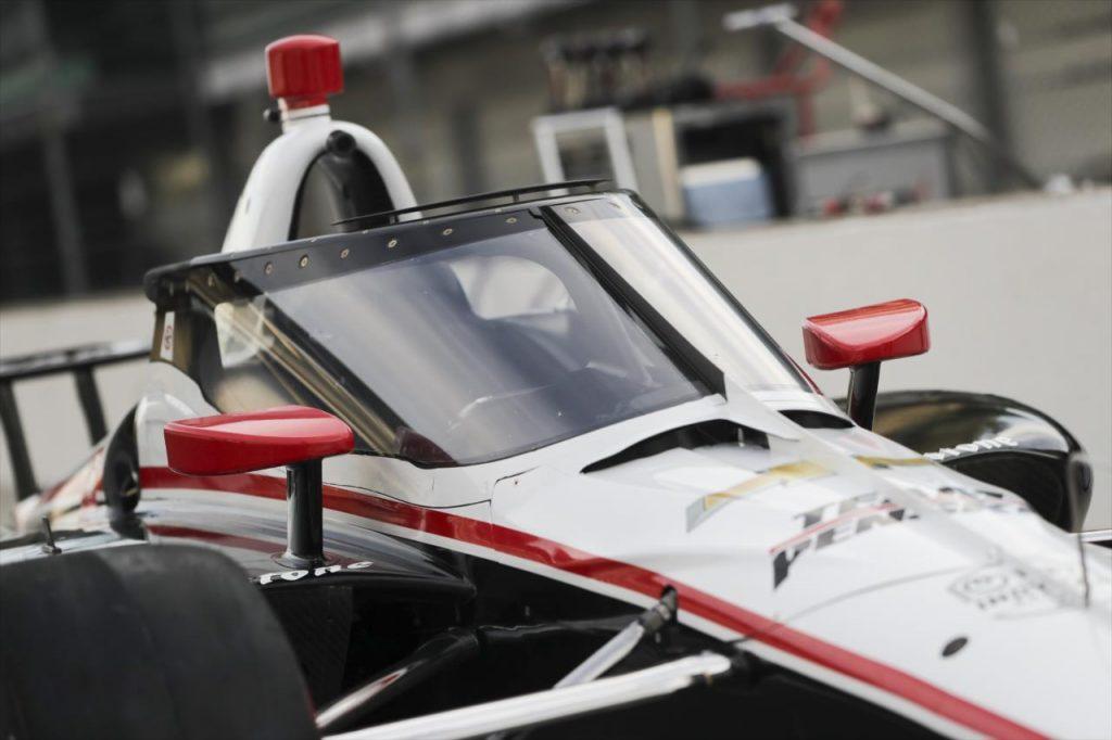 Aeroscreen Penske Andretti Indycar Barber motorsports