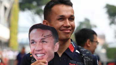 Photo of Albon hoping for smoother weekend in Japan