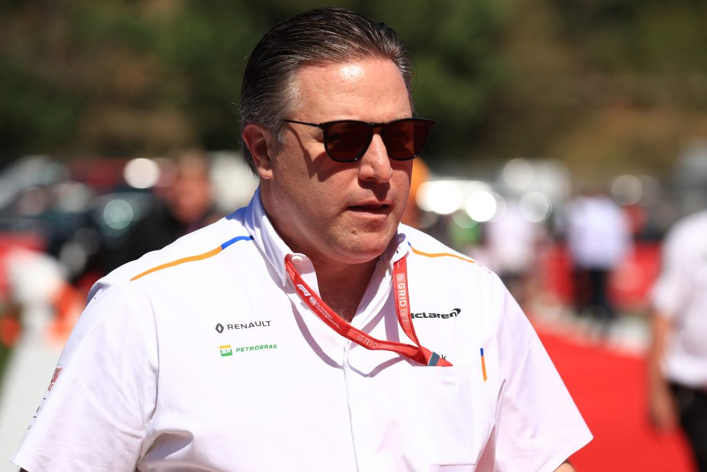 F1 Formula 1 Zak Brown non-executive chairman Motorsport Network