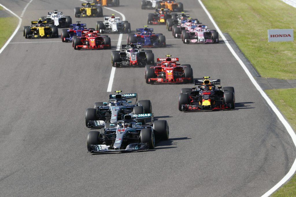F1 Formula 1 Japanese Grand Prix Suzuka Constructor's Championship