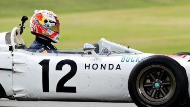 Photo of Verstappen & Sato drive the Honda RA272