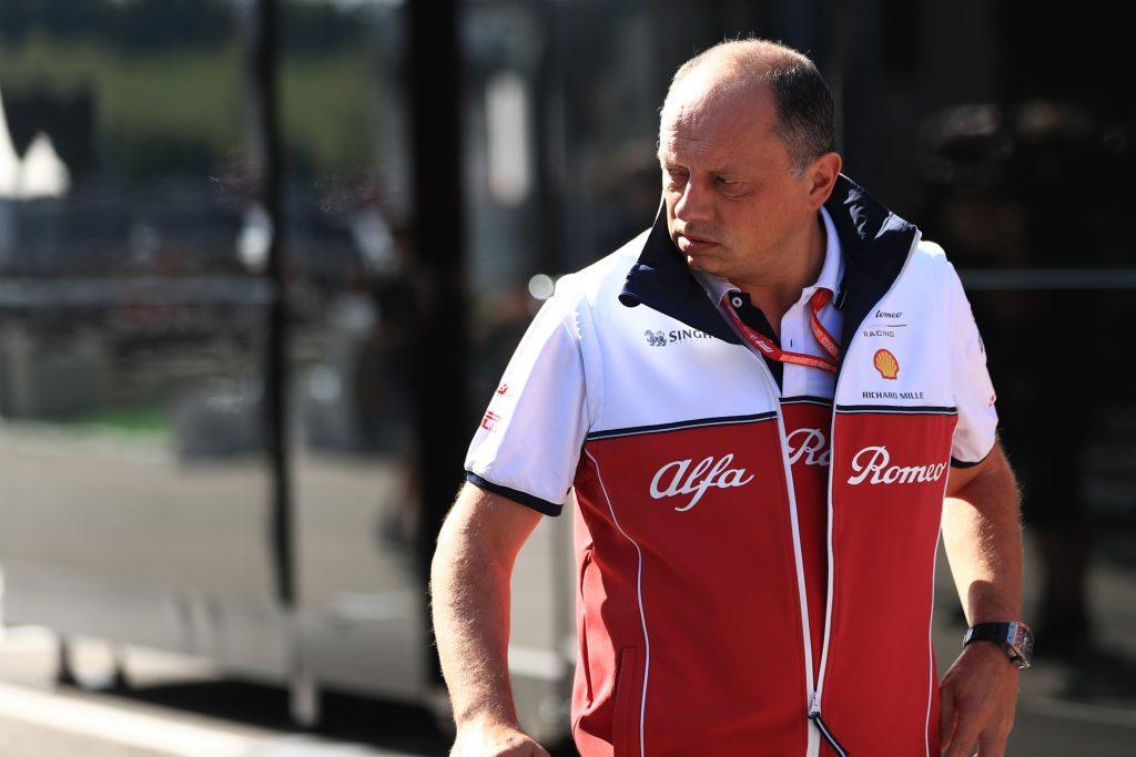 F1 Formula 1 Vasseur Giovinazzi Alfa Romeo