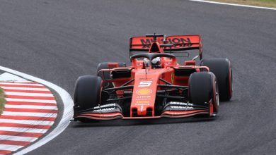"Photo of Vettel praises ""unbelievable"" Ferrari after Japan pole"