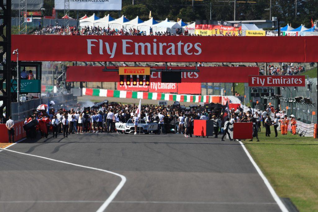 Japanese Grand Prix Grid Suzuka