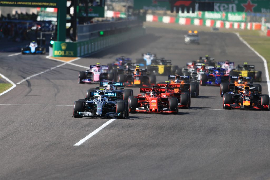 Ferrari Vettel Japanese Grand Prix Mercedes Bottas