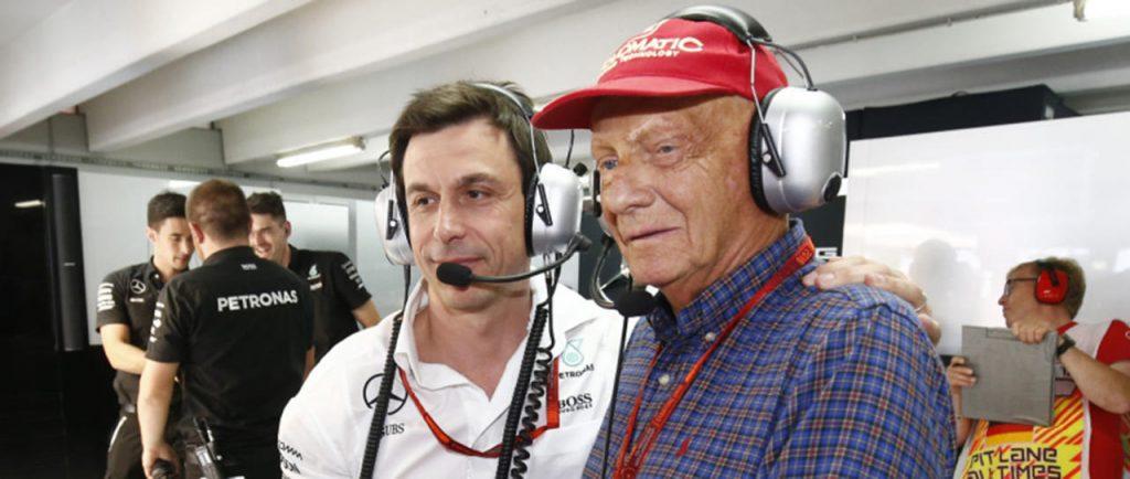 Mercedes F1 Formula 1 Toto Wolff Niki Lauda