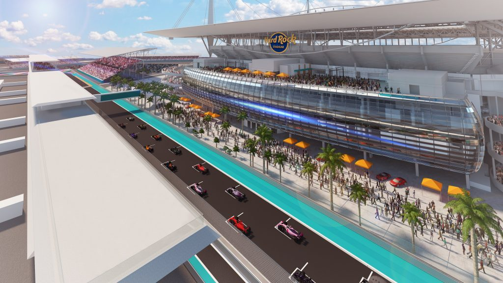 F1 Formula 1 Miami Grand Prix Hard Rock Stadium Miami Gardens