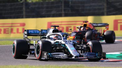 Photo of Mercedes explain why Hamilton was pitted twice in Japan