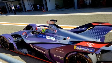 Photo of Robin Frijns fastest on day two of testing