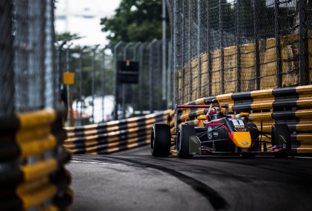 Macau GP Formula 3 F3 Dan Ticktum Marcus Armstrong Robert Schwartzman