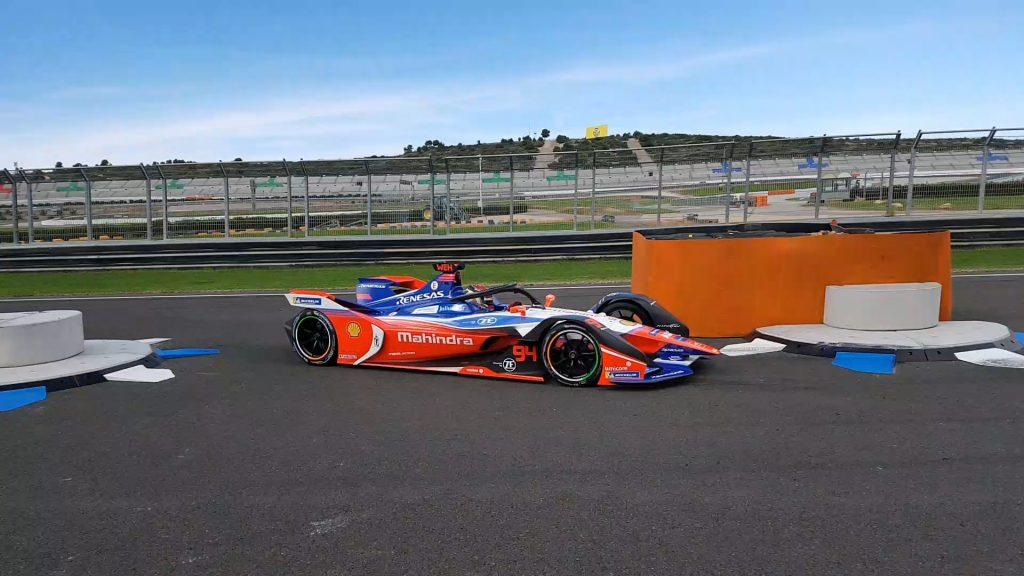 Formula E testing – day 3 session 1