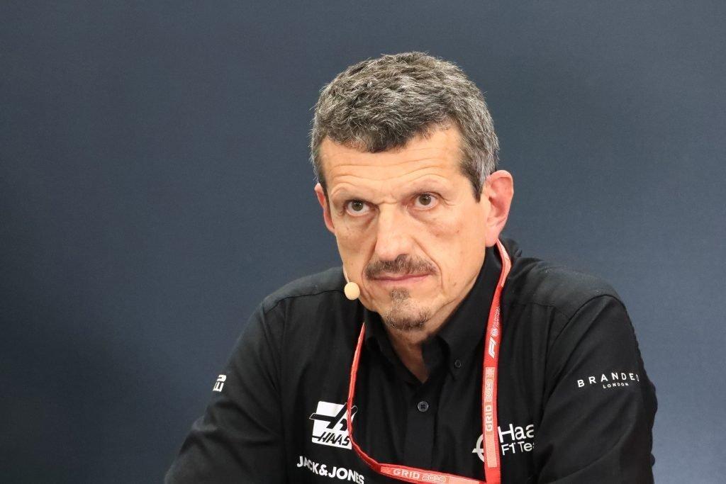 Haas Guenther Steiner Formula 1 F1