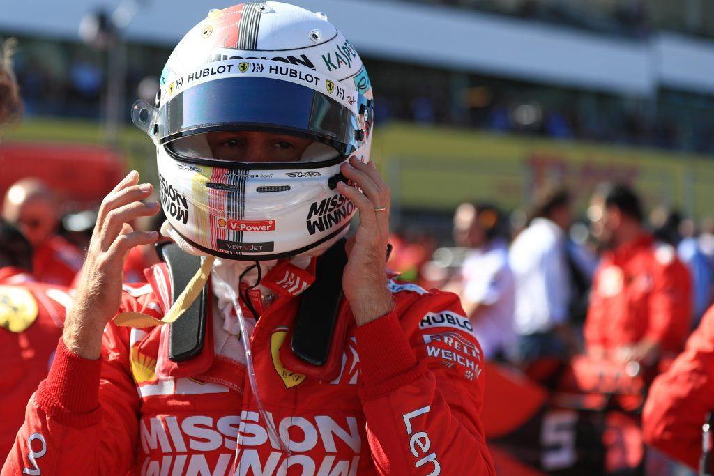 Sebastian Vettel Ferrari Formula 1 F1