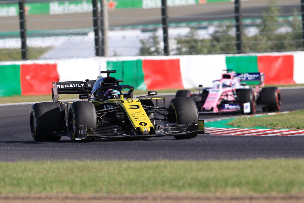 Renault Racing Point Ricciardo Japanese Grand Prix Formula 1 F1