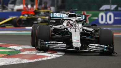Photo of Hamilton wins tactical Mexico battle, title celebrations on hold