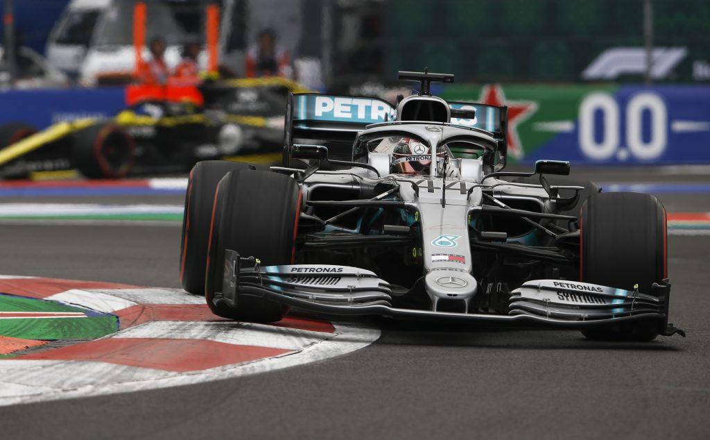 Lewis Hamilton Mercedes Mexican Grand Prix Formula 1 F1