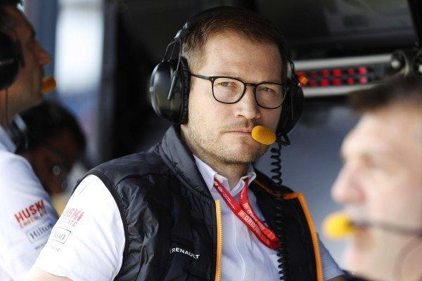 Andreas Seidl McLaren car concept 2021