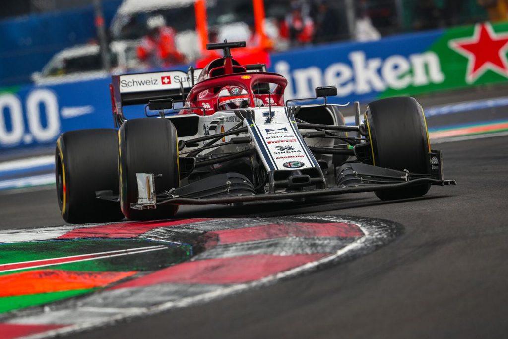 F1 Formula 1 Formula One Kimi Raikkonen first lap Mexican Grand Prix